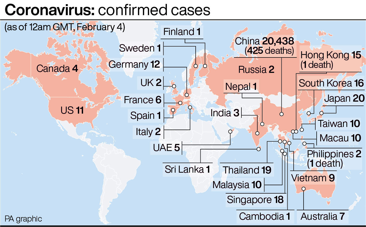 United Kingdom tells citizens to leave China over coronavirus fears""