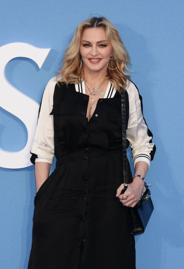 Madonna previously occupied the top two places in the chart