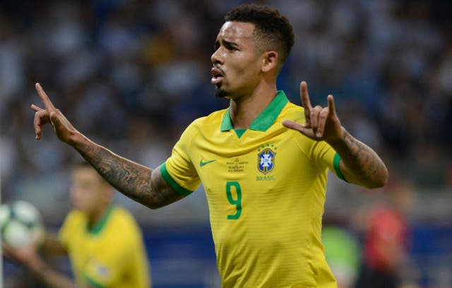 Gabriel Jesus opened the scoring for Brazil