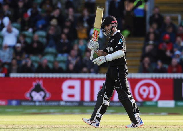 Kane Williamson helped New Zealand get over the line (Mark Kerton/PA)