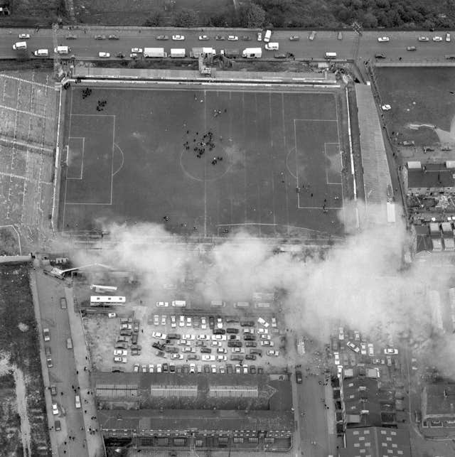 Soccer – Valley Parade Fire – Aftermath