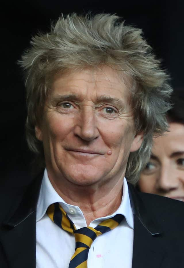 Sir Rod Stewart comments