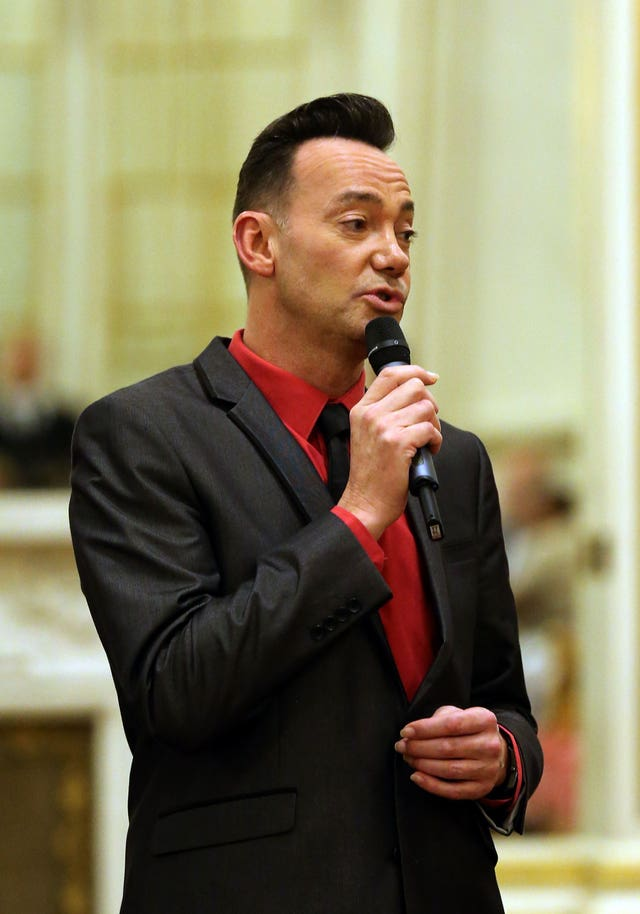 Strictly judge Craig Revel Horwood (Gareth Fuller/PA)