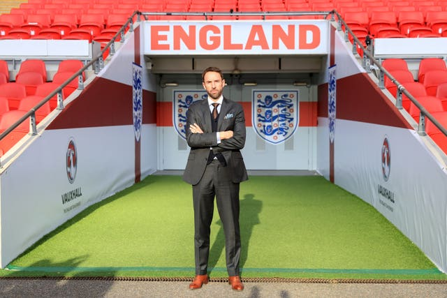 Gareth Southgate was appointed England permanent manager in November 2016