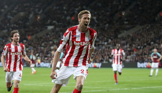 Crouch found Stoke to his liking, making more than 200 Premier League appearances for the club