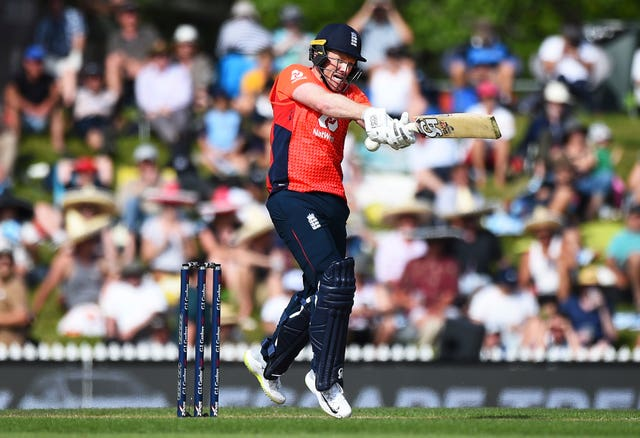 Eoin Morgan joined forces with Malan in a record-breaking partnership