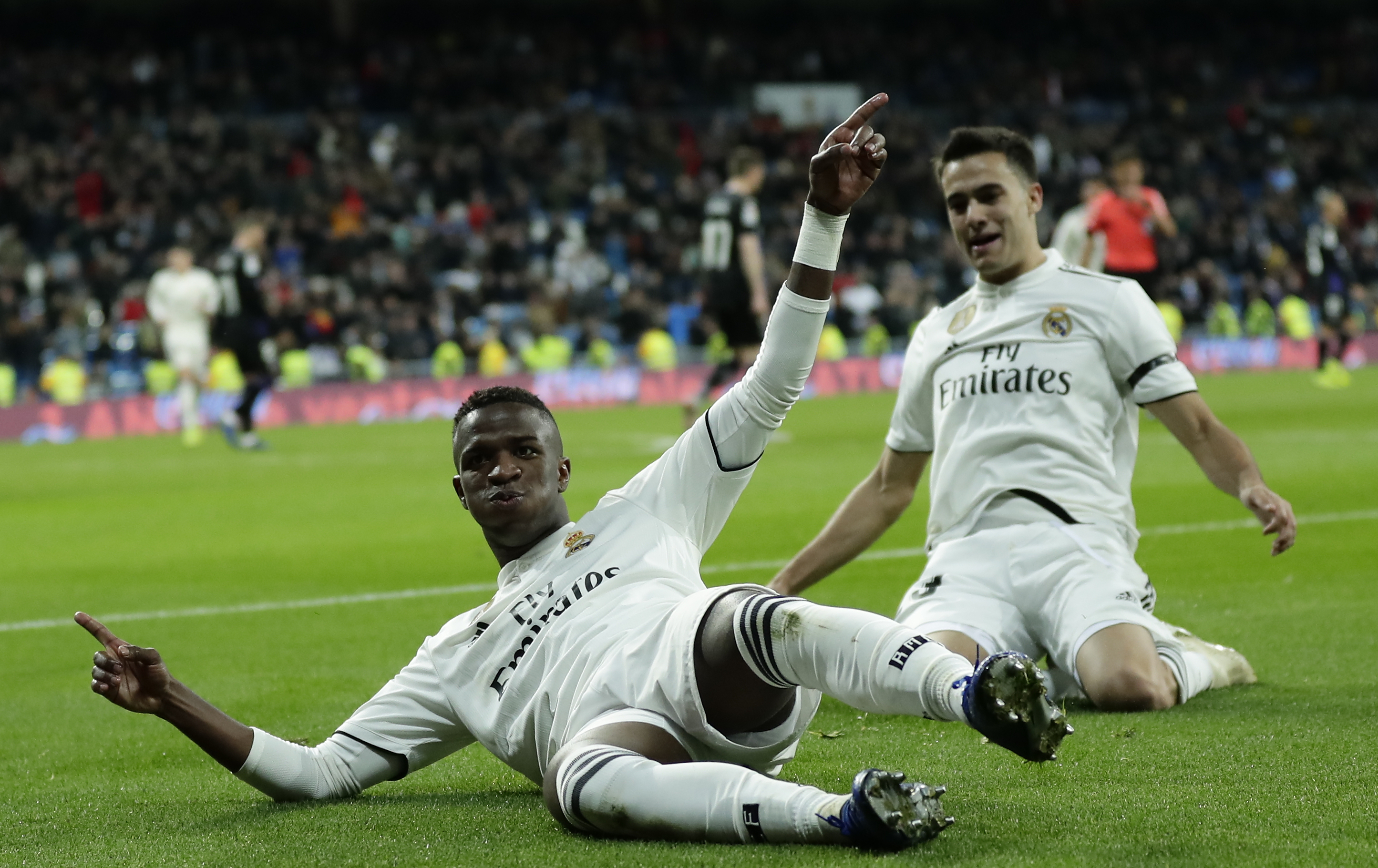 Vinicius inspires Madrid to much-needed win over Leganes