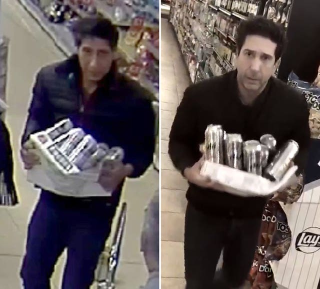 David Schwimmer Blackpool thief comments
