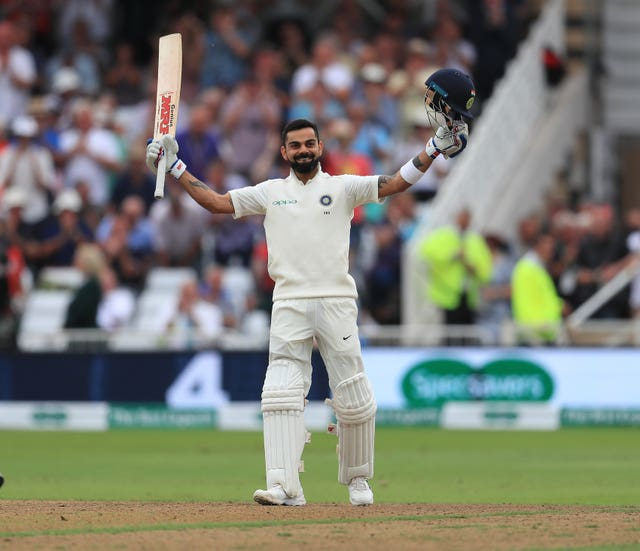 Virat Kohli excelled in English conditions