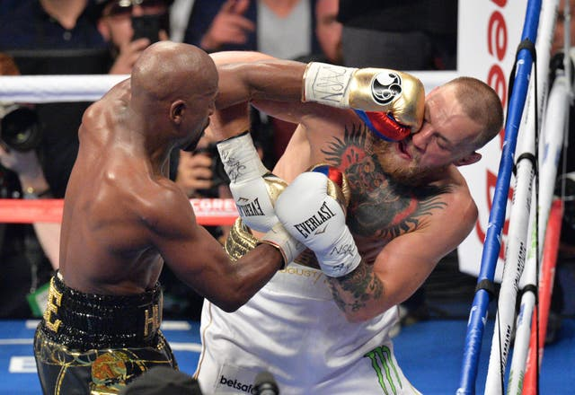 McGregor took on Floyd Mayweather last year