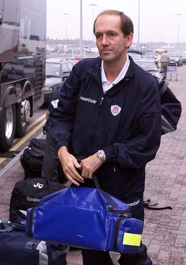 Former Liverpool doctor Mark Waller is now based at Rangers
