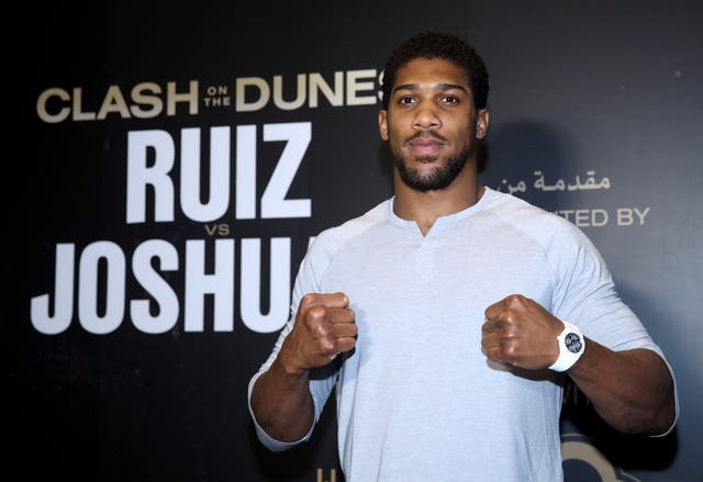 Andy Ruiz Jr v Anthony Joshua II – Arrivals – Riyadh