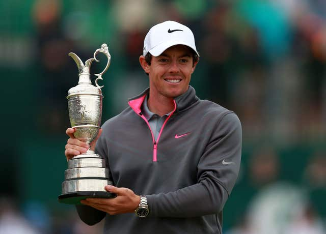 Rory McIlroy has won the Claret Jug but the green jacket still eludes him