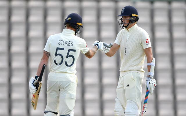 Zak Crawley and Ben Stokes impressed