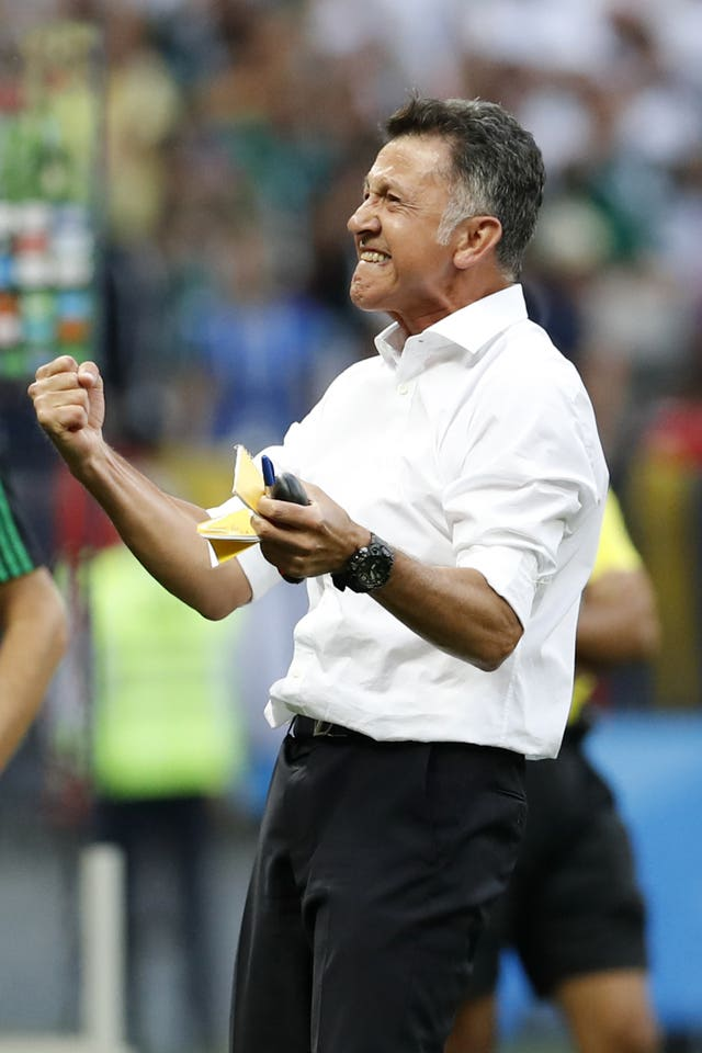 Juan Carlos Osorio's men made an impressive satrt in Group F (Antonio Calanni/AP).