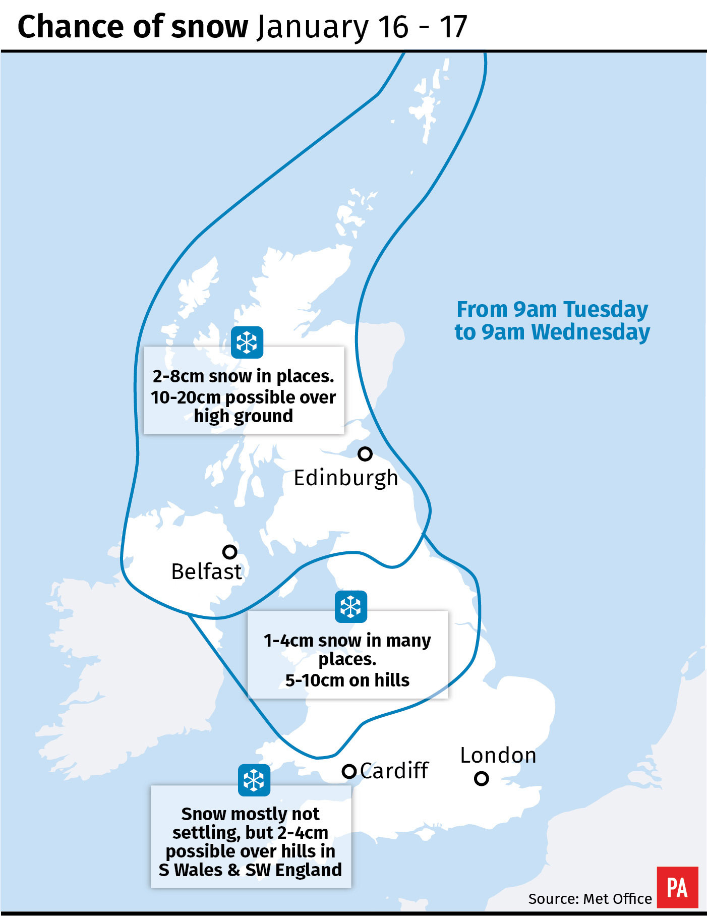 Travel disruption expected as weather warnings cover UK