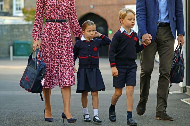 Charlotte starting school