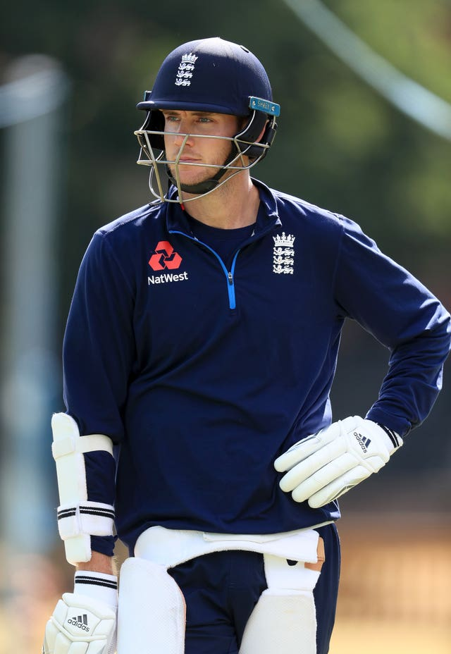 Stuart Broad is happy with what he sees in England's battng.