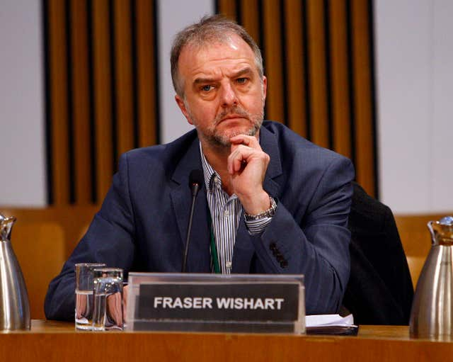 Fraser Wishart also wants clarity