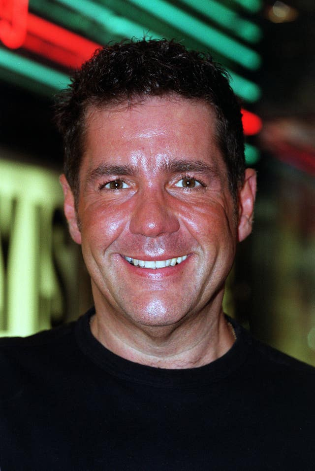 Dale Winton at the premiere of Billy Elliot in London. The presenter has died at the age of 62, his agent has said (Michael Crabtree/PA)