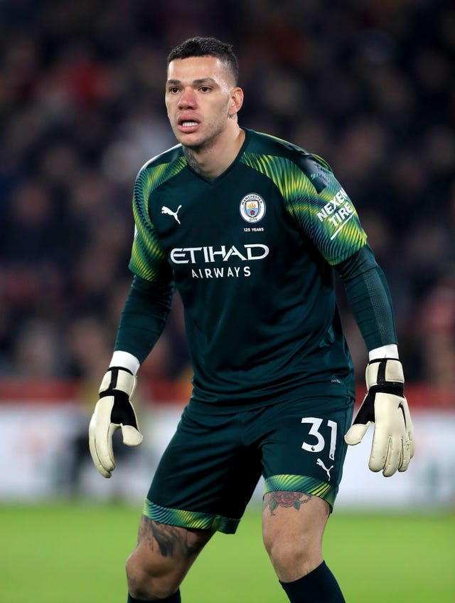 Pep Guardiola says Ederson is the best penalty-taker in the City squad