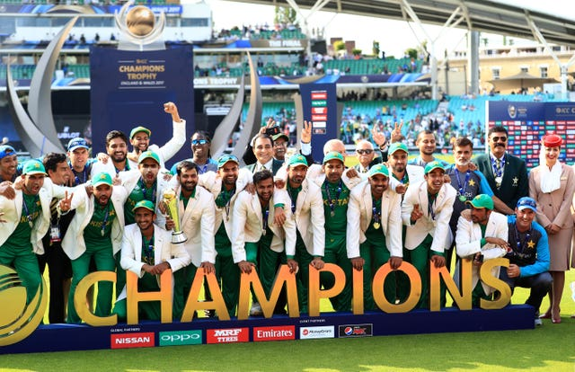 Pakistan v India – ICC Champions Trophy – Final – The Oval