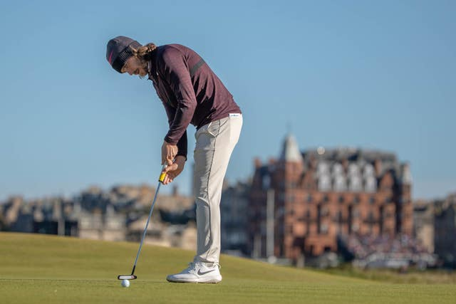 England's Tommy Fleetwood is in contention