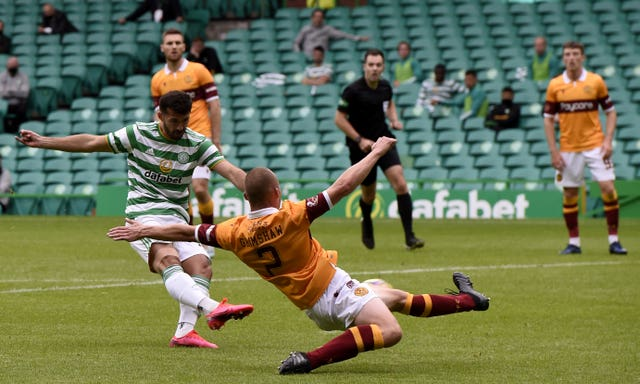 Celtic respond to Champions League exit with convincing win over Motherwell