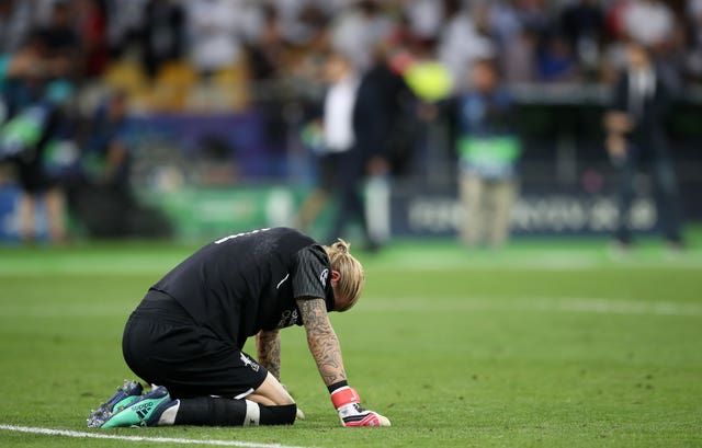 Liverpool goalkeeper Loris Karius had a nightmare Champions League final