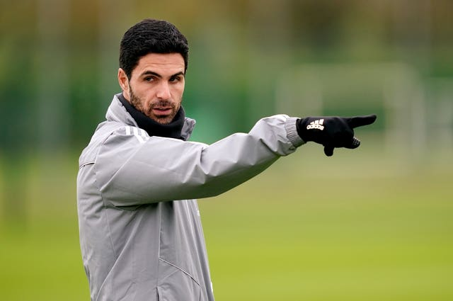 Arteta has been unable to get out on the training ground with his players of late.