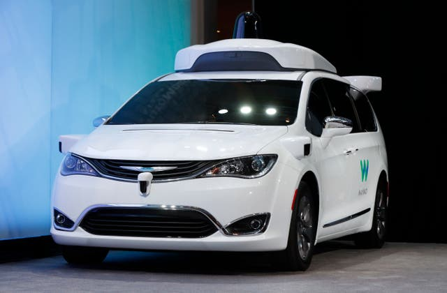 Waymo Self-Driving Vans
