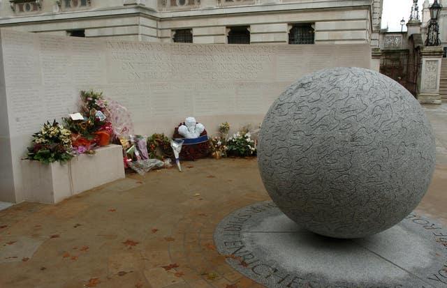 Memorial to victims of Bali bombing (Ian Nicholson/PA)