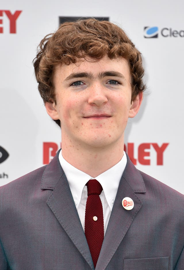 Brenock O'Connor attending The Bromley Boys World Premiere held at Wembley Stadium in London (Matt Crossick/PA)