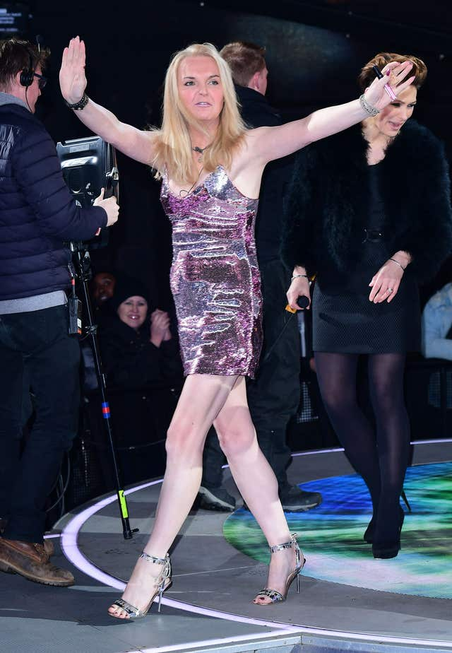 India Willoughby is evicted from the Celebrity Big Brother (Ian West/PA)