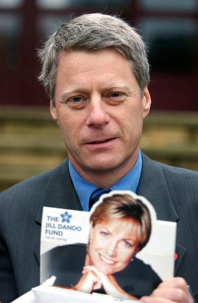 Nick Ross prior to launching the Jill Dando Institute of Crime Science in 2002