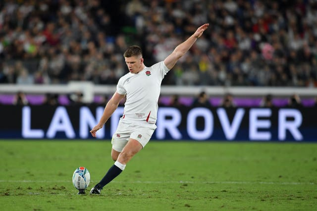 England captain Owen Farrell was one of six Saracens players to start the World Cup final