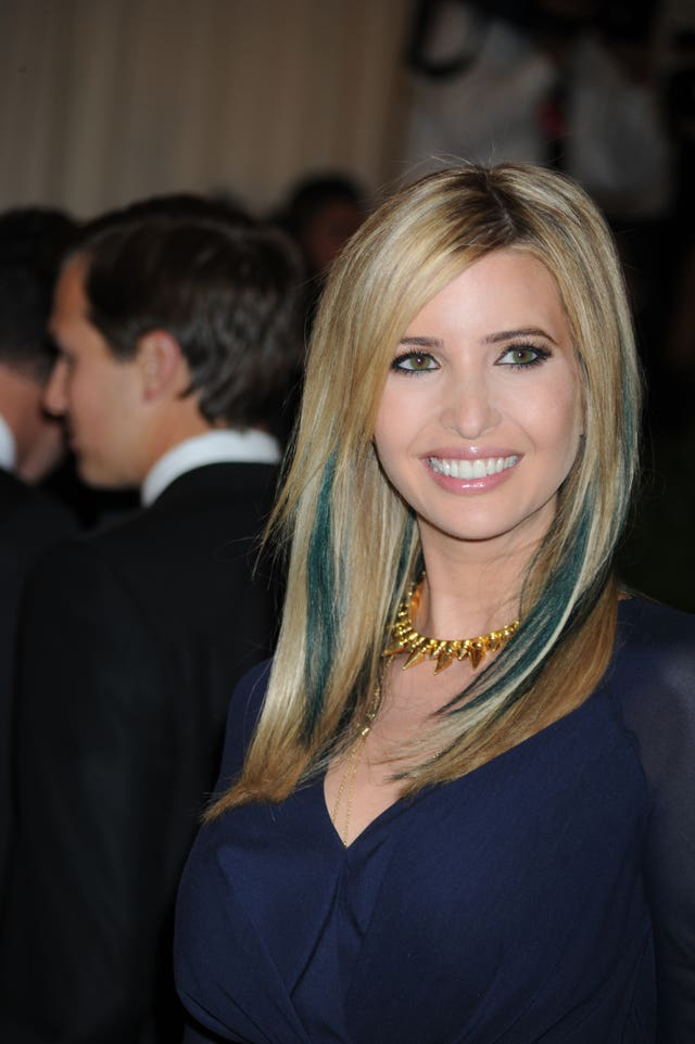 Ivanka Trump at the Met Gala in 2013