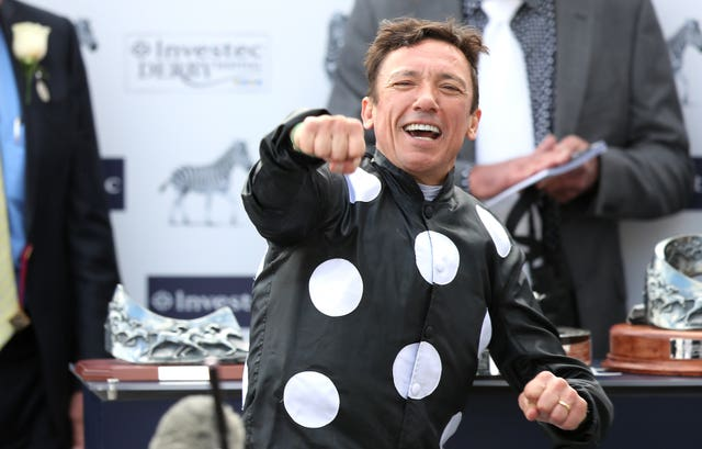 Frankie Dettori won the Oaks at Epsom on Anapurna for John Gosden