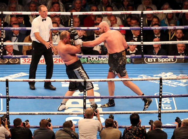 Tyson Fury is largely reliant on his speed, size and skill (Niall Carson/PA Images)