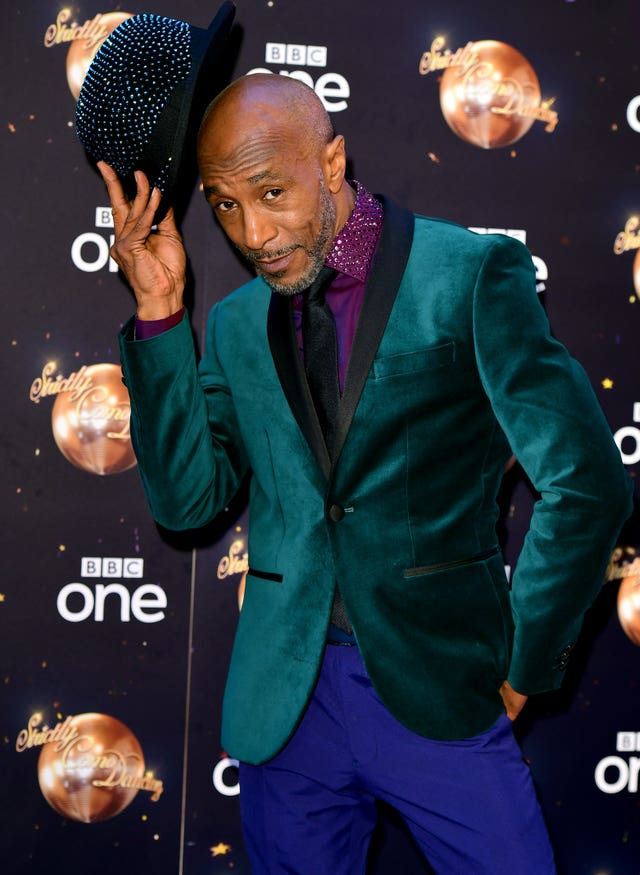 Danny John-Jules at the Strictly Come Dancing Launch