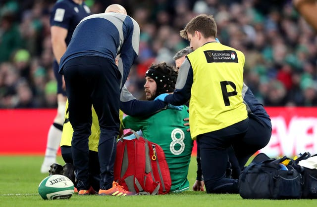 Caelan Doris is expected to return to Ireland's squad following a head injury