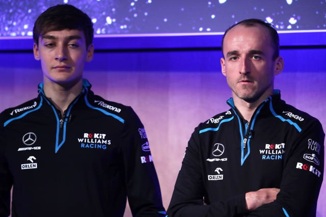 British rookie George Russell will partner Robert Kubica at Williams this season