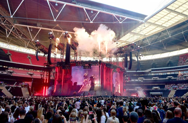 Taylor Swift Reputation stadium tour – London