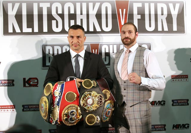 Tyson Fury inflicted Wladimir Klitschko's first defeat for 11 years