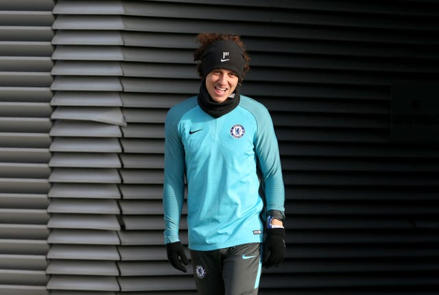 David Luiz is out of favour this season