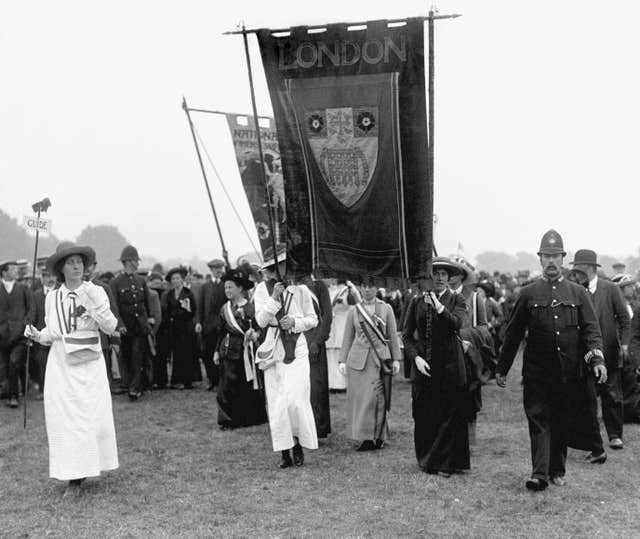 Suffragette Pilgrimage to Hyde Park