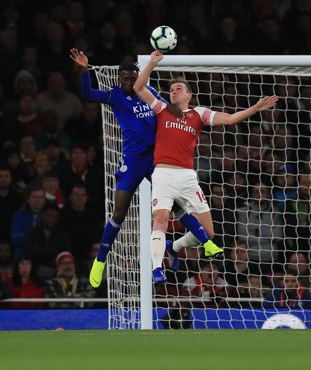 Arsenal 3 - 1 Leicester City: Ozil stars as Arsenal make it a perfect 10 with victory over Leicester