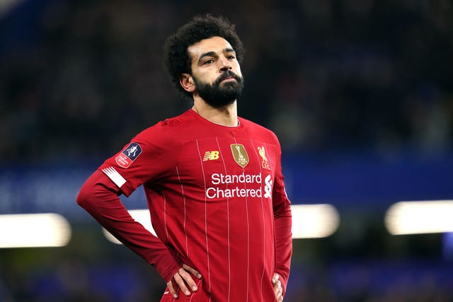 File photo dated 03-03-2020 of Liverpool's Mohamed Salah