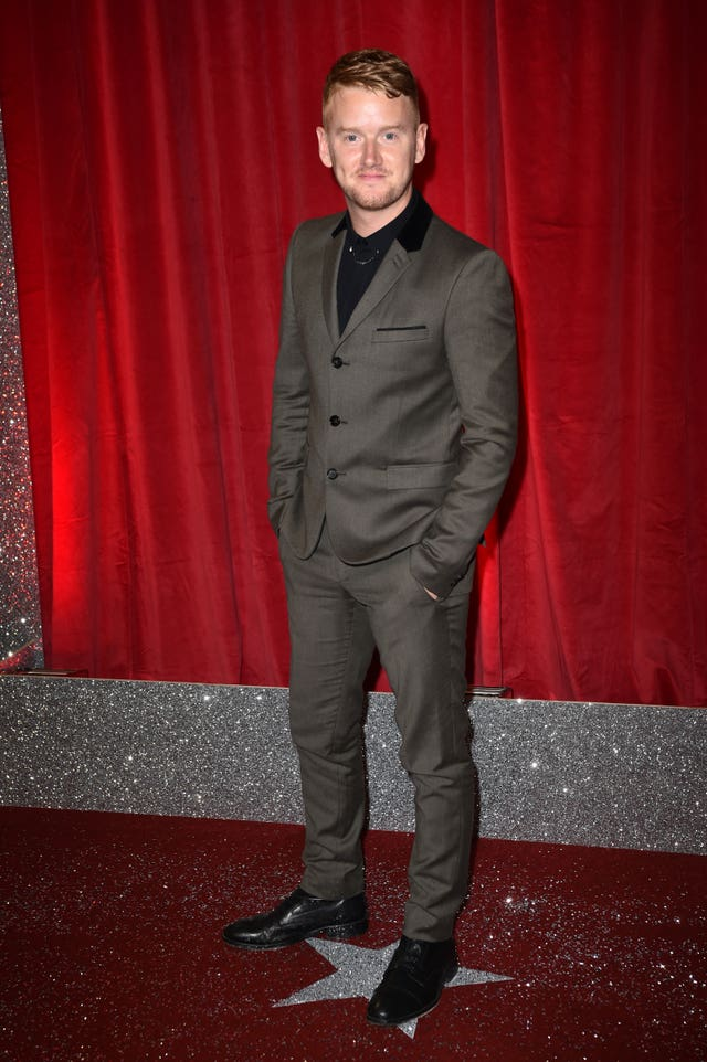 Mikey North on the red carpet