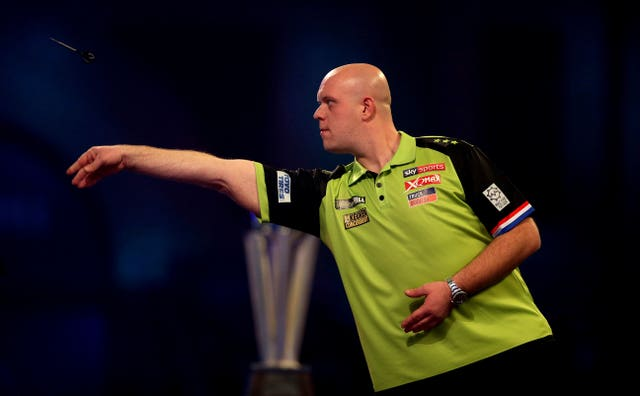 Holder Michael Van Gerwen came up short in the 2020 PDC World Championship
